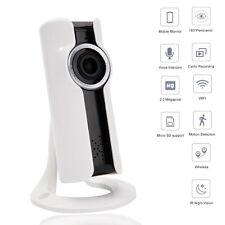 960P HD 1.3MP Wireless IP Camera Fisheye Wifi Webcam Panoramic IR Night Vision