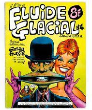 FLUIDE GLACIAL N° 4 (année 1976) GOTLIB SOLÉ MASSE ALEXIS BRETÉCHER LOUP LUCQUES
