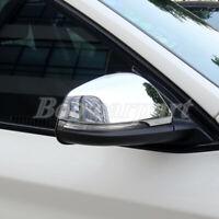 Für BMW X1 F48 Glänzendes Silber Spiegelkappen Außenspiegel Rahmen Zierleisten