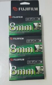 FUJIFILM 8mm High Quality Video Cassette 120 Tapes