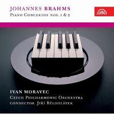 Ivan Moravec, J. Bra - Concerto for Piano & Orchestra 1 & 2 [New CD]