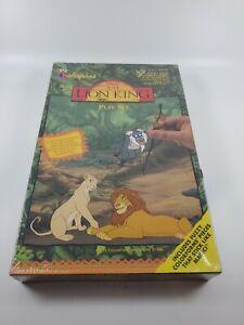 Disney's The Lion King Fuzzy Colorforms Play Set - Simba Nala Timon Pumba 1994