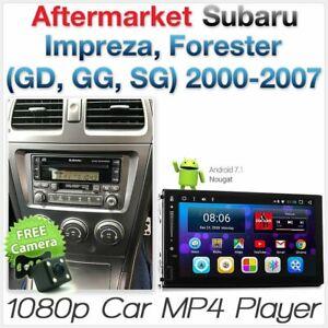 Android MP3 Player Car For Subaru Impreza GD GG 2000-2007 Head Unit Stereo Radio