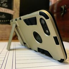 Rugged Enhanced Density TPU High Impact Ballistic Case Gold Apple iPhone 7 PLUS