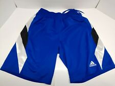 Men's Adidas Basketball Ball Shorts Blue Large