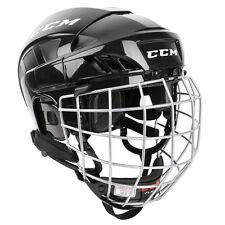 CCM Fitlite FL40 Adjustable Ice Hockey Helmet & Mask Combo