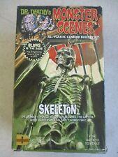 2011 DR. DEADLY'S MONSTER SCENES GLOW IN THE DARK SKELETON MODEL IN BOX DENCOMM