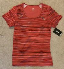 Women's 2XU Active Run Cherry Shirt