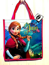 Disney Frozen Reusable Grocery Tote Gift Bag Anna New