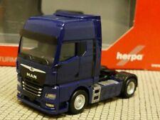 1/87 Herpa MAN TGX GX 2-Achs Zugmaschine dunkelblau 312134