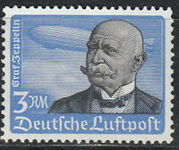 Stamp Germany Mi 539 Sc C56 1934 3rd Reich Airmail Flugpost Graf Zeppelin MNG