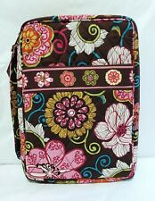 RETIRED Vera Bradley Zip Around Bible Cover Mod Floral Pink