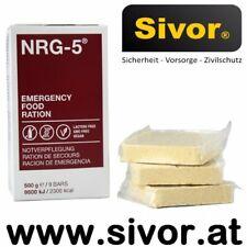 NRG-5 Emergency Food 500 g Notverpflegung Notration Notnahrung Langzeit Sivor
