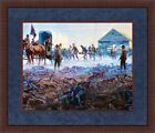 Mort Kunstler Civil War Print Bringing Cleburne In Custom Gallery Framed