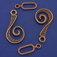 18sets copper tone toggle clasps h3348