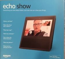 AMAZON ECHO SHOW 1st GENERATION SMART ASSISTANT NEW SEALED BOX BLACK