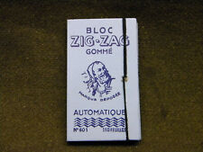 ZIG-ZAG Zouave Papier cigarettes Rolling paper early full papel fumar 601 nos