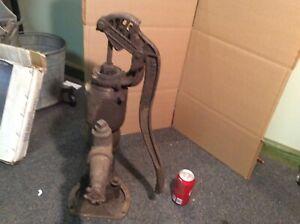 Antique Myers Cast Iron Pitcher Hand Water Pump