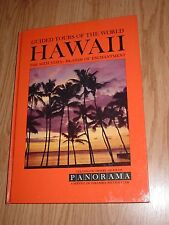HAWAII Panorama Guide Tour Book / Slides / Record 1960 travel island