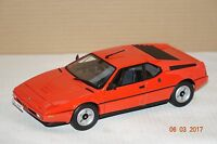 BMW M1 1978 orange 1:18 Norev neu & OVP 183222