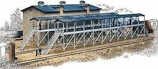 WALTHERS CORNERSTONE N SCALE ICE HOUSE/ICING PLATFORM KIT 933-3245