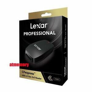Lexar Professional CFexpress Reader Type B USB 3.2 Gen 2x2 LRW550U