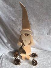 Weihnachten Wichtel, Groß Natur SANTA, Weihnachtsdeko