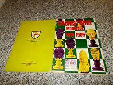 ALBUM CRONISTORIA MONDIALE 1914-1965 LA FOLGORE 1966 ORIG.COMPLETO MOLTO BELLO