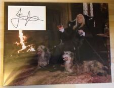 Certified: Obtained Personally Harry Potter Collectable Autographs