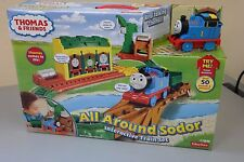Fisher Price Thomas and Friends All Around Sodor Interactive Train Set (AB2)
