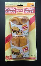 Burger King Onion Rings & Fries Play Set Play Food Toys Sky Kids INC MOC