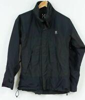 Haglofs Goretex XCR Jacket Black Womens Waterproof Breathable Size EU36 UK10 S