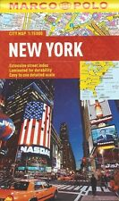 Marco Polo New York City Map *FREE SHIPPING - NEW*