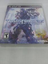 Transformers: Dark of the Moon ps3 no manual (Sony PlayStation 3, 2011)