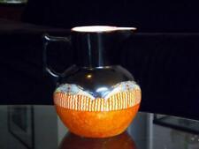 Czech Czechoslovakia Erphila Art Pottery Spongeware Handpainted Pitcher