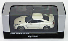 Kyosho Original KS03744BW Nissan GT-R R35 Brilliant White Pearl 1/43 scale