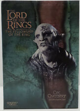 THE LORD OF THE RINGS : ORC OVERSEER 1/4 POLYSTONE BUST MADE BY SIDESHOW