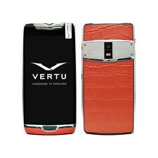 """Vertu Constellation X Red Alligator 2018 Dualsim 5.5"""" 4G Luxury NFC 6GB 64GB"""