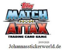 Topps Match Attax 19/20 Matchwinner /Club 100 / Starspieler/ Logo 2019/2020