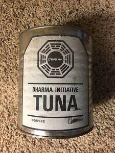 Authentic LOST TV Series Prop - Dharma Initiative Tuna can (COA)