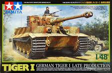Tamiya 32575 WWII German Tiger I  'Late Production' Kit - 1:48