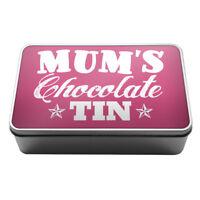 Mum's Chocolate Tin sweets biscuits Metal Storage Tin Box A003