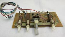 Parts from Pioneer RT-901 reel to reel deck - pitch-speed selector control board