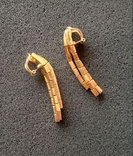Vintage ladies Solid 18K Yellow Gold Earrings, Nice 20.50 Grams ~ L@@K ~ BUY!