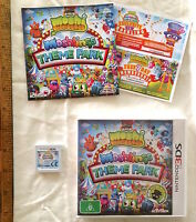 NINTENDO 3DS MOSHI MONSTERS MOSHLINGS THEME PARK GAME BOXED COMPLETE LIKE NEW!
