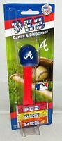MLB ATLANTA BRAVES Pez Dispenser BASEBALL CAP   [Carded]