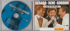 GERARD JOLING RENE FROGER GORDON Live At The Arena 3 TRACK CHARITY CD TOPPERS