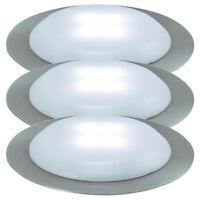 Nice Price 3630 Bodeneinbauleuchten Set LED rund 3x0,3W satin inkl. Leuchtmittel