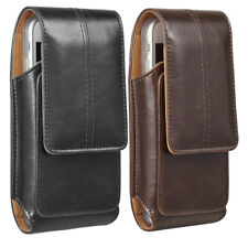 Clip Belt Cell Phone Case Leather Pouch for iPhone 11 Pro 8 7 Plus Pouch Case