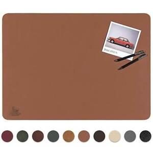 Centaur Schreibtischunterlage aus Leder, Echtleder Schreibunterlage Rutschfest